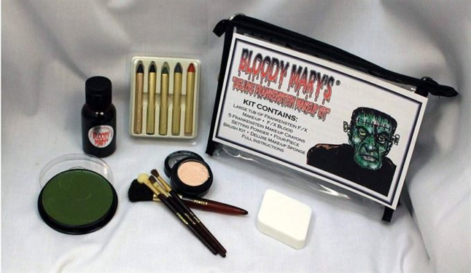 Frankenstein Monster Makeup Kit - Special Effects Halloween Costume Decoration