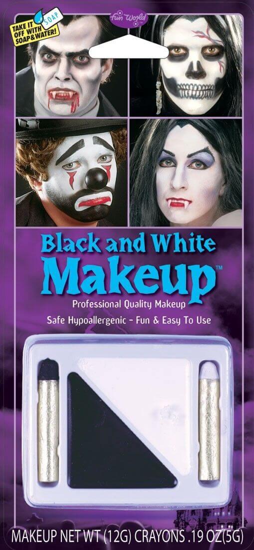 Fun World Black and White Make-Up Kit