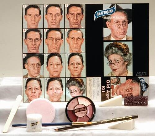 Old Age Theatrical Make-Up Kit
