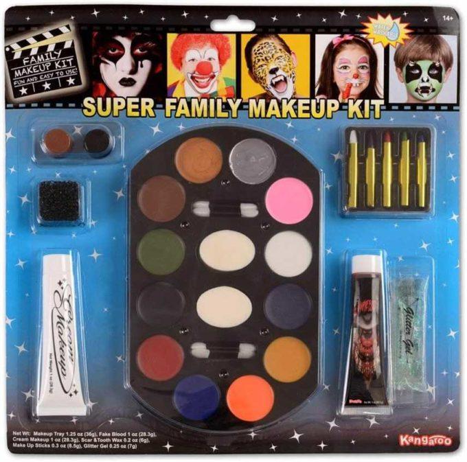 Super Jumbo Value Deluxe Family Makeup Kit; Halloween Makeup