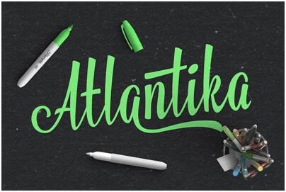 atlantika font