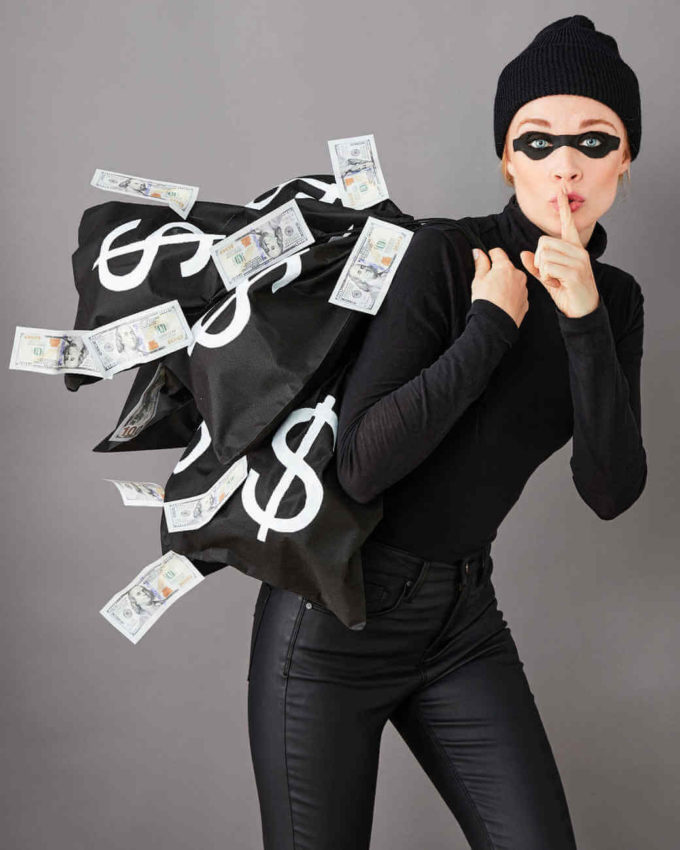 bank robber halloween costume ideas