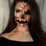 scary pumpkin halloween makeup ideas