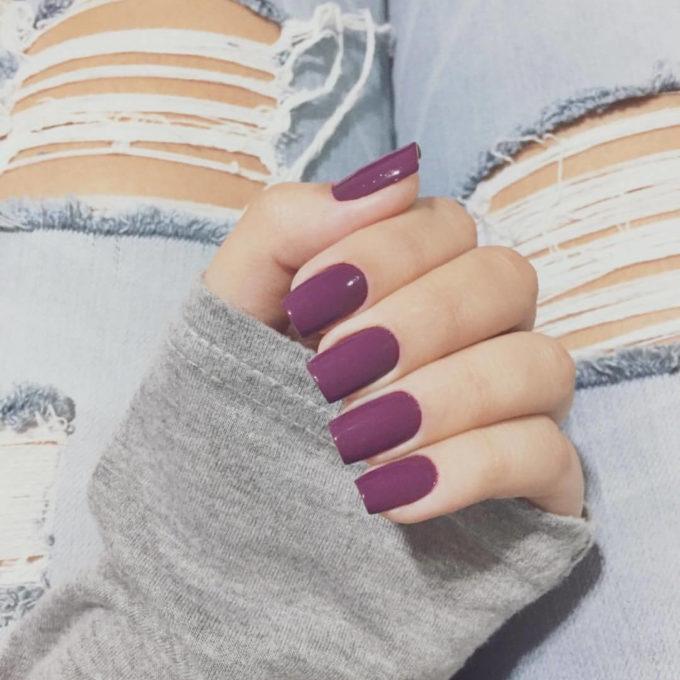 dark color nail designs