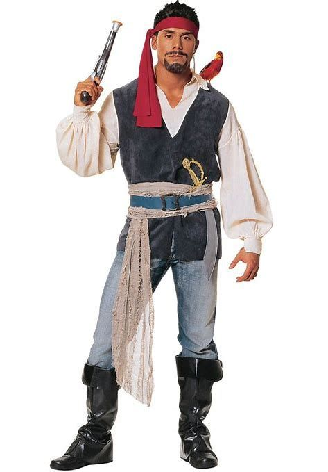 diy mens pirate costume ideas
