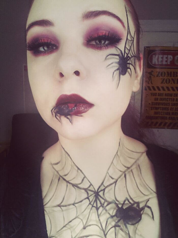 spider makeup ideas for halloween 2019