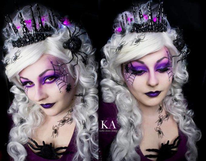 spider queen makeup ideas for women
