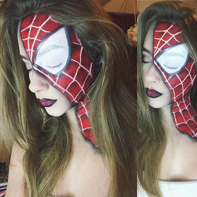 spider woman makeup ideas