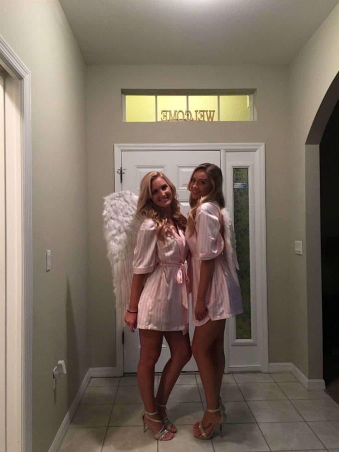 victoria secret angel costume ideas for halloween