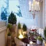 christmas balcony decor ideas