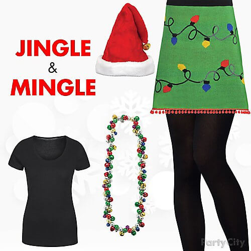 female funny christmas outfit ideas
