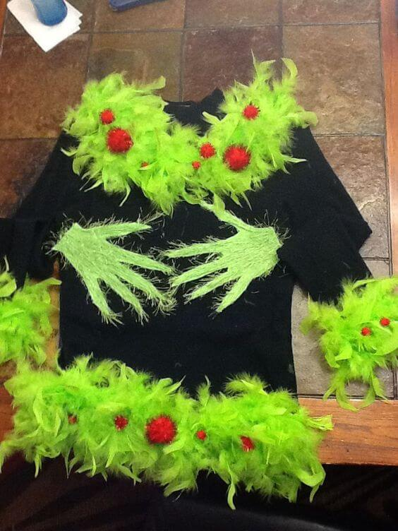 grinch christmas outfit ideas