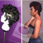 hairstyle pixie wig style