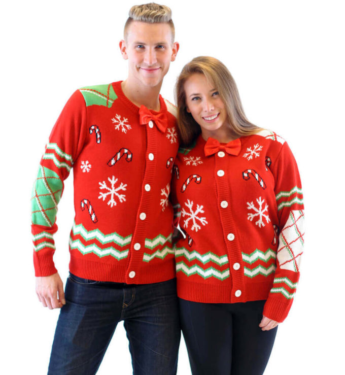 ugly christmas sweater ideas for couples