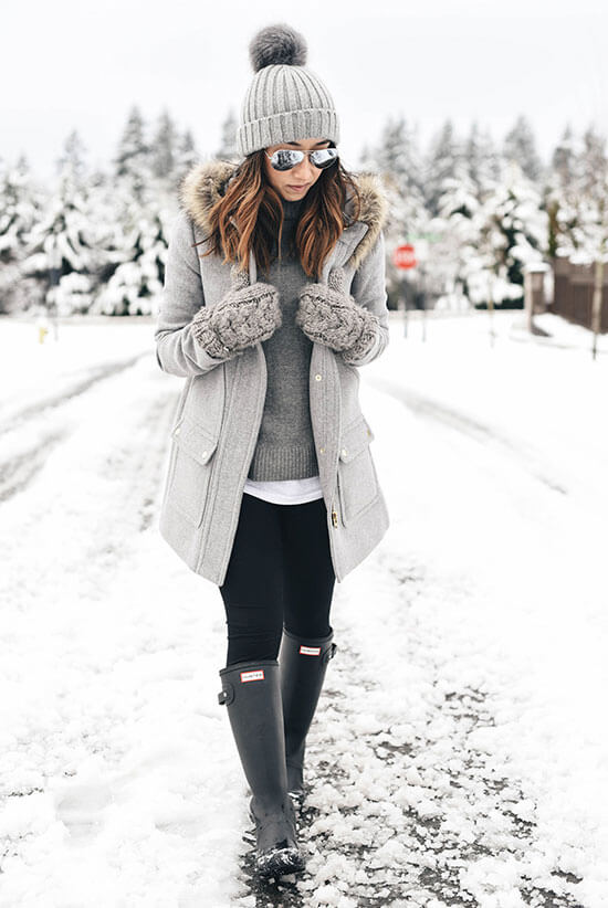 winter outfit ideas for girls