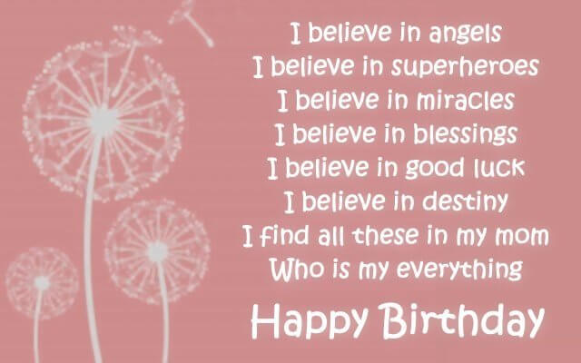 birthday quotes for best mom ever