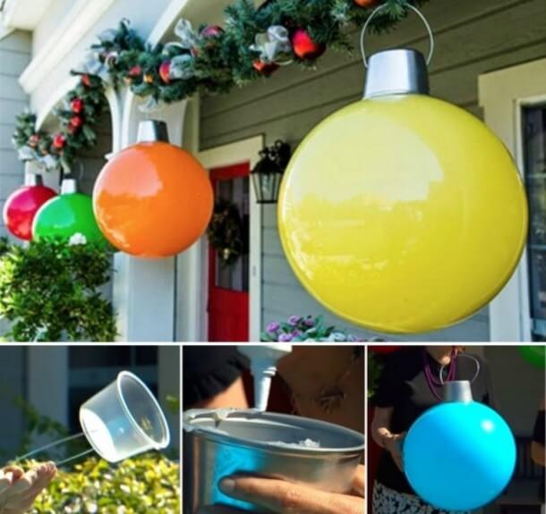christmas ball decoration lights