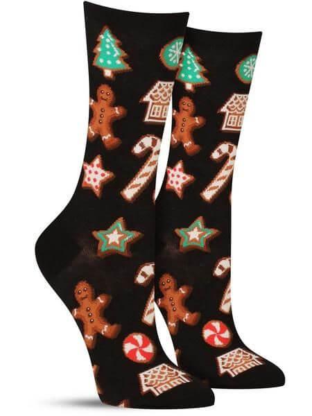 christmas cookies socks