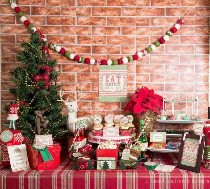 christmas party decoration home decoration ideas