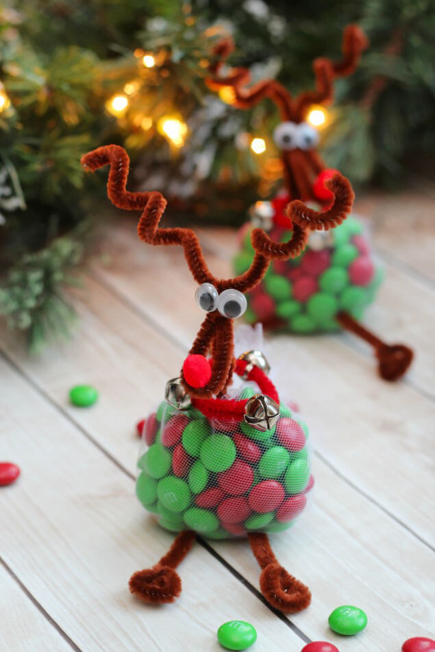 easy christmas treats reindeer crafts