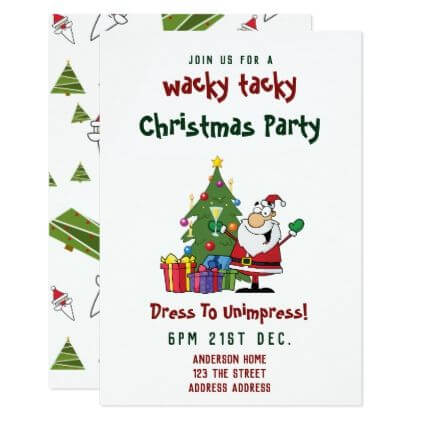 funny christmas party invitation ideas