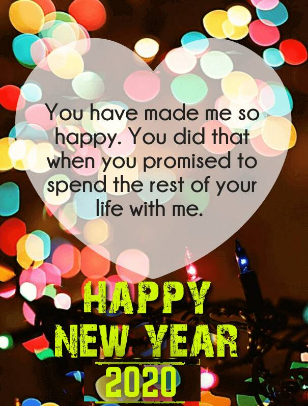 happy new year 2020 quotes for love