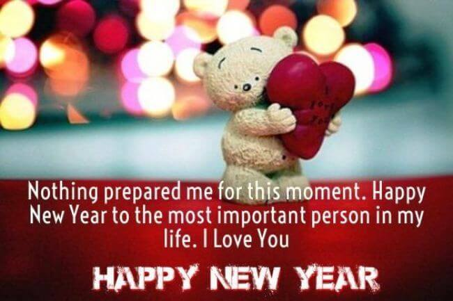 happy new year messages for the love of your life