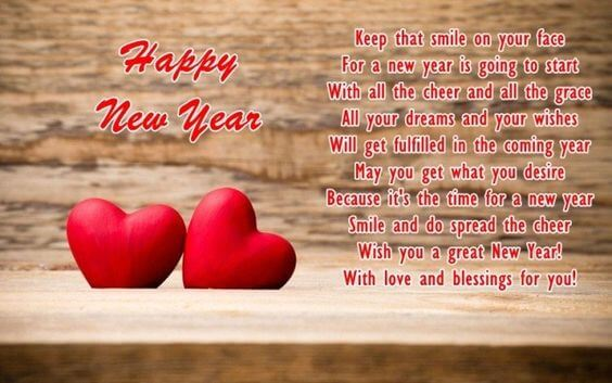 happy new year wishes quotes for love