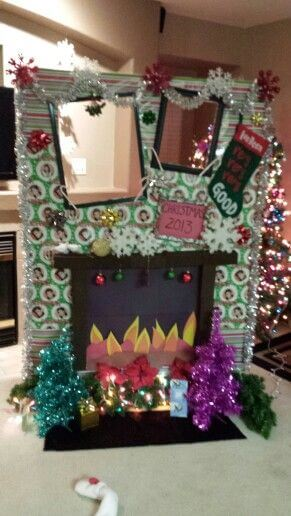 ideas for christmas photo booth decorations