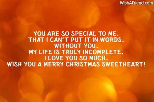 merry christmas sweetheart images with wishes