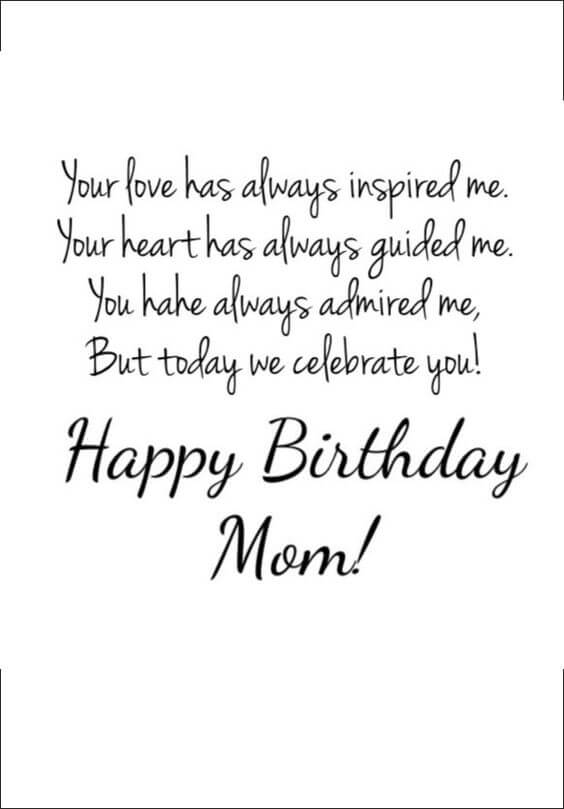 motivating birthday mom quotes