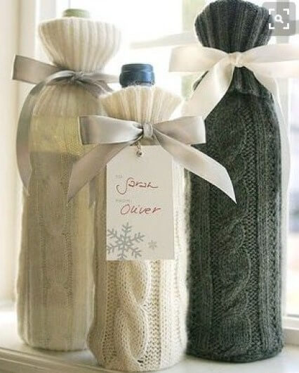 recycle wine bottle decorations diy