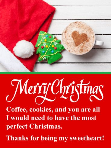 romantic love merry christmas images for sweetheart