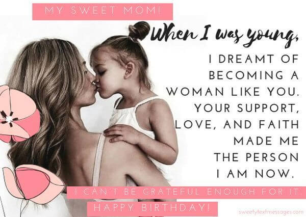 sweet birthday quotes for mom