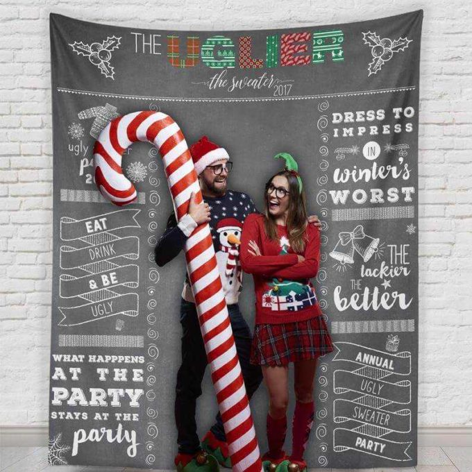 tacky ugly sweater party decorations