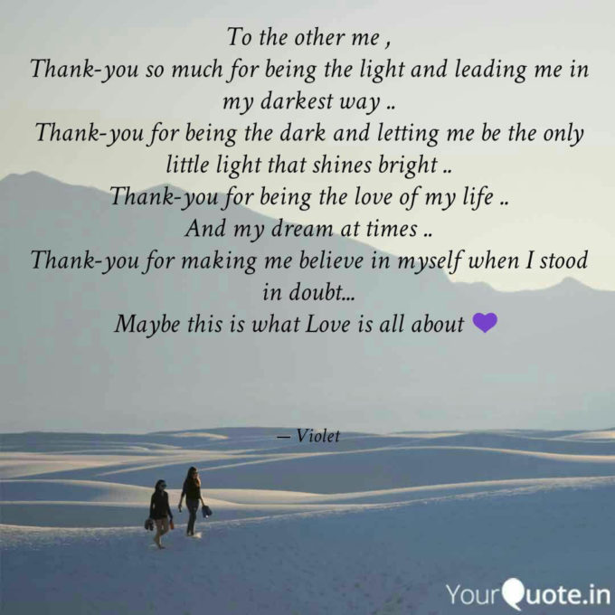 thank you quotes about love