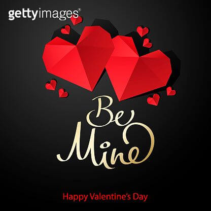 download free happy valentines day origami hearts image for love