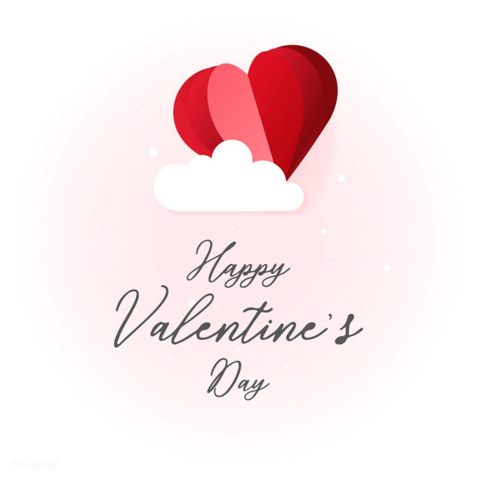 download free happy valentines day vector image