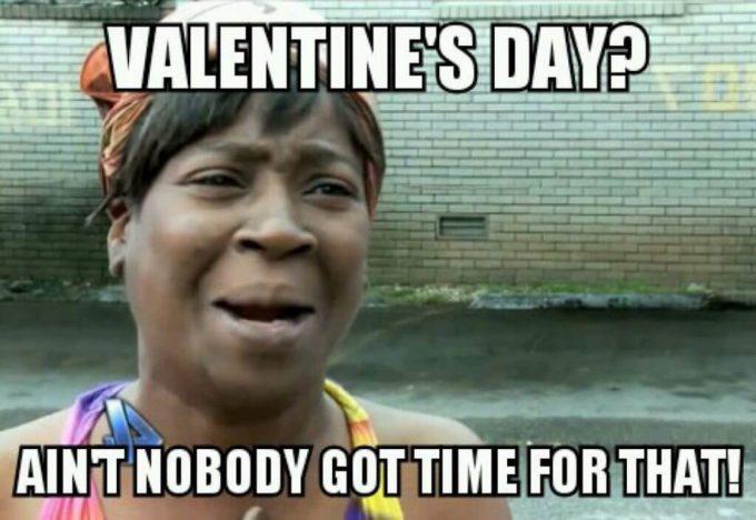 funny anti valentines day meme