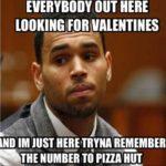 single valentines day meme