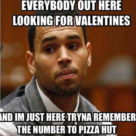 funny valentines day meme images for single men