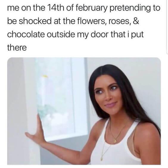 single on valentines day meme for girls