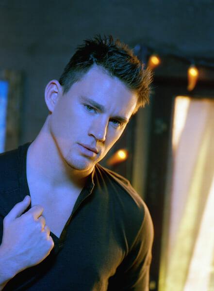 Channing Tatum textured haircut