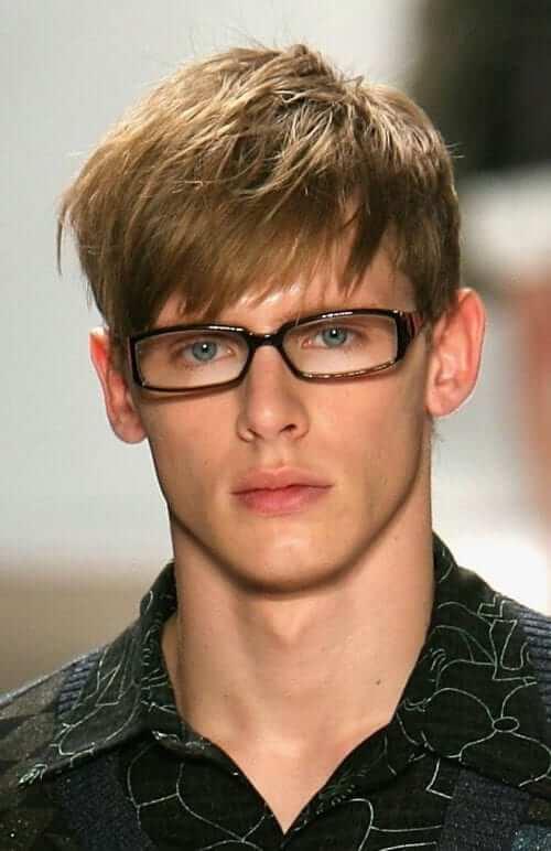 angular fringe haircut