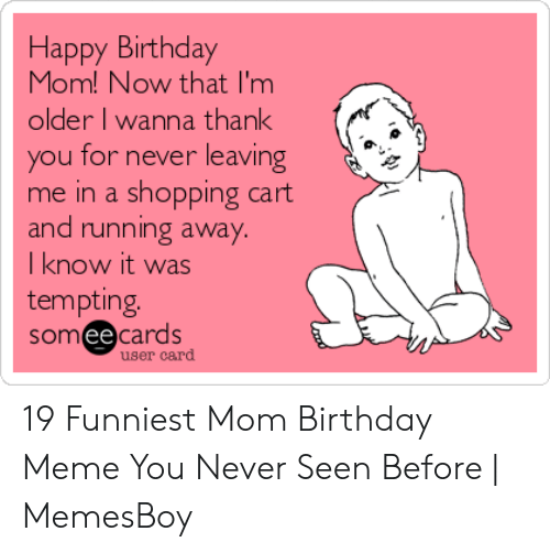 funny thank you happy birthday meme