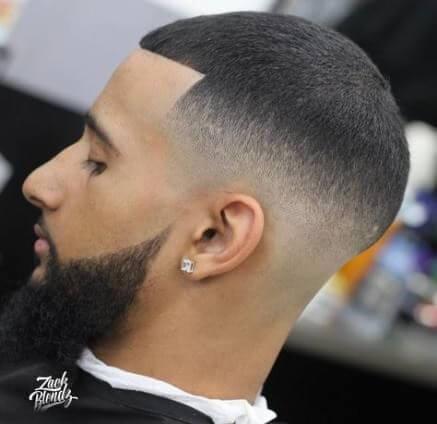 high bald fade haircut