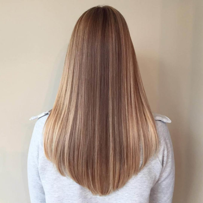 u shaped haircut for long hair