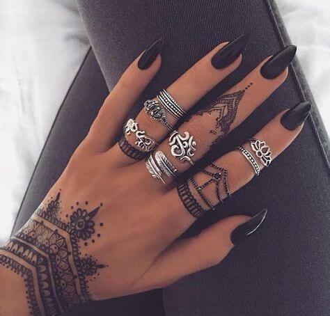 jewelry bracelet henna design