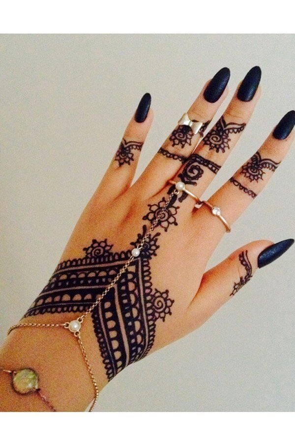 jewelry mehndi bracelet design