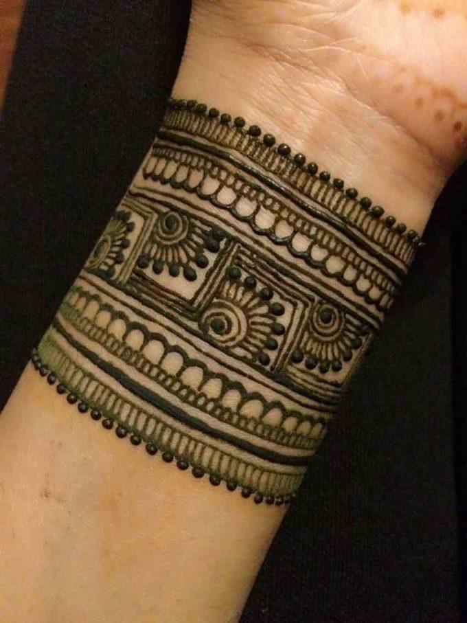 mughlai bracelet mehndi design